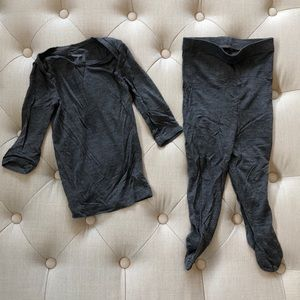 Solly Baby Footed Sleeper Set